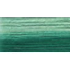 Мулине Гамма меланж цвет Р-35 изумрудный-бледно-бирюзовый