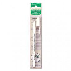 Ручка белая водо/утюгоисчезающая белая Clover 517