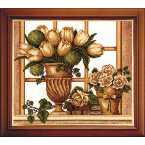 Набор для вышивания Тюльпаны (Букет)
