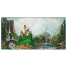 61019 Набор для вышивания бисером Astrea 'Замок' 40х20см