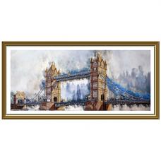 НД1501 Набор для вышивания бисером 'Легендарный лондонский мост'100 x 38см