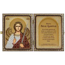 СЕ7104 Набор для вышивания бисером Нова Слобода 'Ангел Хранитель' 23x14,2см
