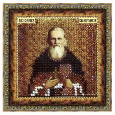 014ПМИ Набор для вышивания бисером 'Вышивальная мозаика' Икона 'Св. Прав. Иоанн Кронштадский', 6,5*6,5 см