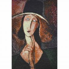 Р-101 Портрет Жанны Эбютерн по мотивам картины Амедео Модильяни