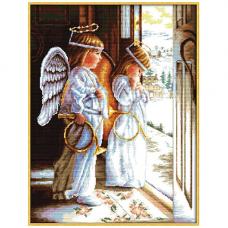 АН-001 Набор для вышивания крестом 'Ангелы' 40*53см