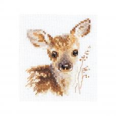 0-195 Животные в портретах. Олененок