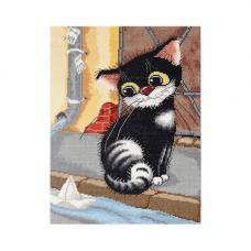 1149 Котёнок с лодкой