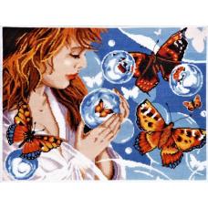 1182 Фантазия с бабочками