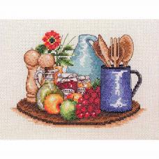 PCE758 ANCHOR Набор для вышивания 'Кухня' 16х23 см