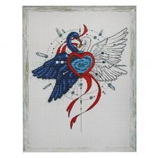 404 Набор для вышивания Astrea 'Вечная любовь'19х21 см