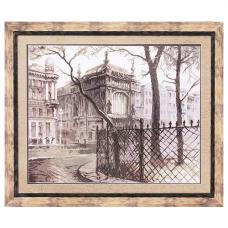 М-67 Набор для вышивания 'Чарівна Мить' 'Питерский дворик', 62*49,5 см