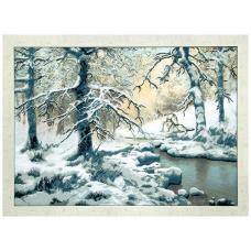 РК-77 Набор для вышивания Чарівна Мить 'Волки возле зимнего ручья' 62*44см