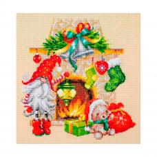100-251 Набор для вышивания Чудесная игла 'В ожидании Рождества'22х22см