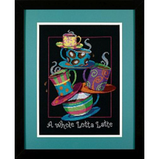 35218 Полные кружки с кофе-латте