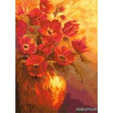 902 Красные цветы