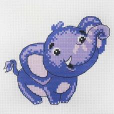209 Набор для вышивания Hobby & Pro Kids 'Слоненок' 19*19см