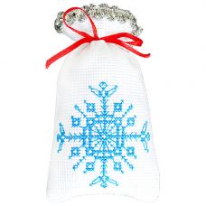 М-002 Набор для вышивания Hobby&Pro 'Снежинка' 15*9см