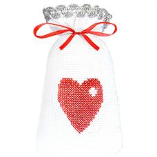 М-004 Набор для вышивания Hobby&Pro 'От всего сердца' 15*9см
