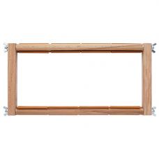 ПГК-3015 Пяльцы-рамка с клипсами, бук, 30х15 см