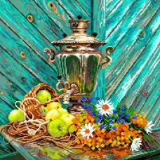 1837 Набор для вышивания Матренин Посад 'Осенний аромат' 37*49см