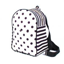 9195 Набор текстильная сумка-рюкзак из холста Матренин Посад 'Геометрия'28х20х13см