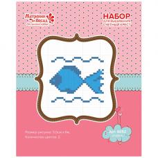 6052/СК Набор для вышивания Матренин посад 'Рыбка'20*22см