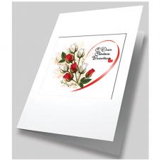 8392 Набор для создания открытки Матренин Посад ' Вестник любви' 12х17см
