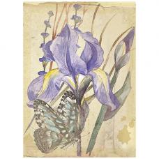 8359 Набор для создания открытки Матренин Посад 'Сиреневый нектар' 12х16,5 см