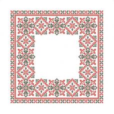 ККСН 010 Набор салфетка для вышивки крестом «Радость» 45*45см