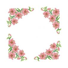 ККСН 011 Набор салфетка для вышивки крестом « Нежность» 45*45см