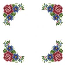 ККСН 013 Набор салфетка для вышивки крестом «Весеннее чувство» 45*45см