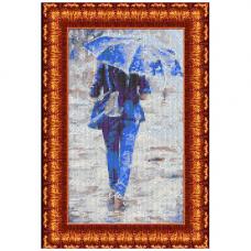 Кткн 135 Набор для вышивания Каролинка 'К судьбе'15х30см