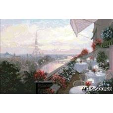 10409 Набор для вышивания Краса и творчество 'Париж' 50,8*33,8 см