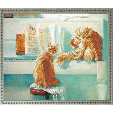 41110 Набор для вышивания Краса и творчество 'Дуэт' 36,1*28,9 см