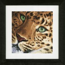 0154944-PN Набор для вышивания LanArte 'Леопард' 35x34 см