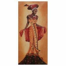 0008096-PN (35019) Набор для вышивания LanArte 'Африканский мотив' 20*40см