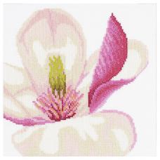 PN-0008163 Набор для вышивания LanArte 'Цветок магнолии' 20*20см