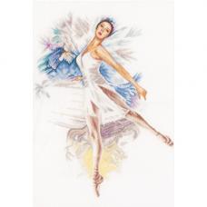 PN-0156939 Набор для вышивания LanArte 'Балерина' 41*52см