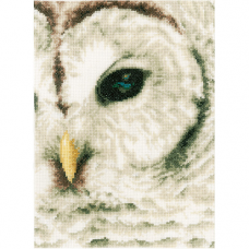PN-0163781 Набор для вышивания LanArte 'Белая сова' 19*26см