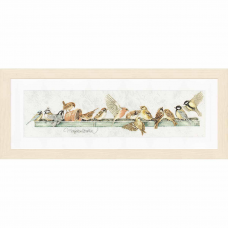 PN-0007963 Набор для вышивания LanArte 'Кормушка для птиц' 69x18