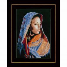 PN-0149998 Набор для вышивания LanArte 'Африканская девушка' 32x48