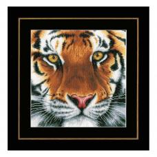 PN-0156104 Набор для вышивания LanArte 'Тигр' 35x34