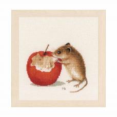PN-0175633 Набор для вышивания LanArte 'Мышка' 20x16