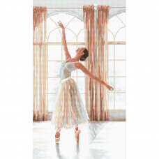 Leti906 Набор для вышивания LetiStitch 'Балерина' 32*19см