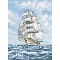 Leti907 Набор для вышивания LetiStitch 'Корабль' 25*35см