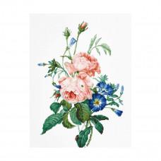 BA2363 Набор для вышивания Luca-S 'Букет с розами' 45,5*30см