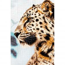 BU4006 Набор для вышивания 'Леопард' 21,5*31,5см, Luca-S