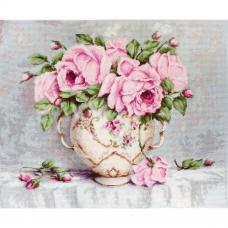BA2319 Набор для вышивания 'Розовые розы' 43*35см, Luca-S