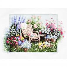 B2344 Набор для вышивания 'Цветущий сад' 43*28см, Luca-S