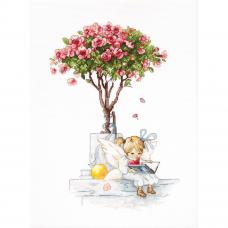 B1115 Набор для вышивания 'Розы' 18*26,5см, Luca-S